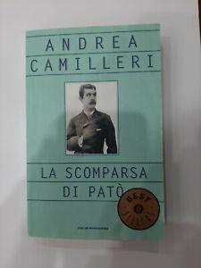 La scomparsa di Patò, di Andrea Camilleri , Mondadori