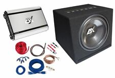 ESX HXP4 Subwoofer Final Stage Sound Package Bass System Car