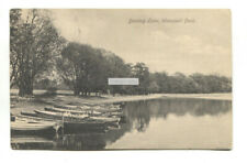 Wanstead Park - Boating Lake, boats - 1911 used Essex postcard