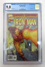 Iron Man #1 CGC Graded 9.8 NM/M Marvel 1998 v3 Heroes Return Kurt Busiek