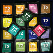 """T2 TEA ""  19 different filter+ envelope tea bags"
