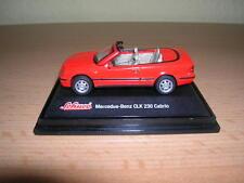 Schuco junior line Mercedes-Benz CLK 230/clk230 cabrio rojo red cabriolet, 1:72