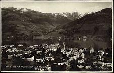 Zell am See Austria Salzburg AK ~1940 Thumersbach Hundstein Panorama ungelaufen