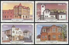 SWA/South West Africa 1981 Luderitz/Buildings/Architecture/Heritage 4v (sw10110)
