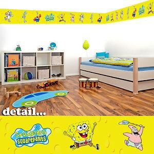 SpongeBob SquarePants Self Adhesive Decorative Wall Border - 5m in total