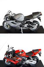 Motorrad-Modell Spritzguss Freilauf 1:18 BMW Honda Kawasaki NEU