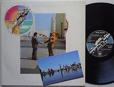 PINK FLOYD Wish You Were Here AUSTRALIA Lp GATEFOLD ONLY EX- 1975 w/ POSTCARD