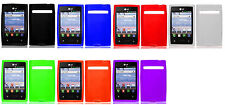 Silicone Case Cover For LG Optimus Dynamic L38c L38G L35G L3 E400 ZONE VS410