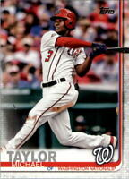2019 Topps Baseball #101 Michael Taylor Washington Nationals