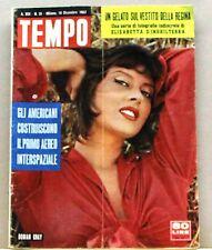 TEMPO - Un gelato sul vestito della regina [Rivista - 19 Dicembre 1957, N.51]