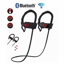 Wasserdicht In-Ear Kopfhrer Bluetooth Kopfhörer Kabellos Sport Stereo Headsets