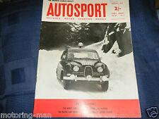 FORMULA JUNIOR  1962 PETER ARUNDELL AUSPER T4 LOTUS 22 WAINER COOPER DE SANCTIS