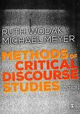 Methods of Critical Discourse Studies by SAGE Publications Ltd (Paperback, 2015)