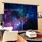 3D Star Sky 2 Blockout Photo Curtain Printing Curtains Drapes Fabric Window AU