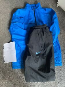Nike Golf Storm-Fit Waterproof Jacket And Trousers Stunning Size Small