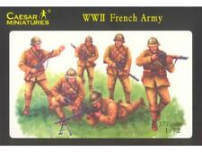 Caesar Miniatures H038 WWII French Army 1/72 Plastic Scale Model Kit
