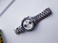 Seiko 6138-8000, Baby Panda, S/Steel Bracelet, Genuine Seiko/Stelux Nos, No3