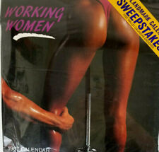 Landmark Calendar 1987 Working Women New in Package Sexy Gym Workout