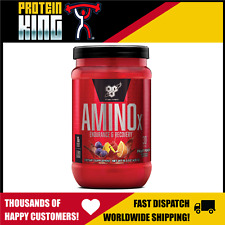 BSN AMINO X 435G 30 SERVE FRUIT PUNCH BCAA AMINOS RECOVERY INTRA WORKOUT BPI BSC