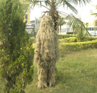 5 PCS Loose Desert Camouflage Suit 3D Grass Sniper Airsoft Hunting Ghillie Suit