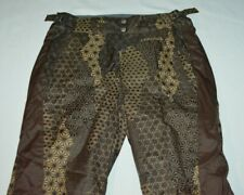 Columbia Convert Brown Tan Star Omni Tech Ski Snow Snowboard Pants Women XS NWOT