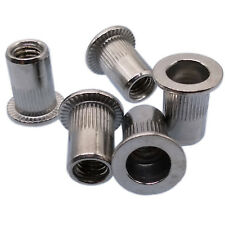 Us Stock 25pcs M6x1x15mm Lfk Stainless Steel Rivet Nut Rivnut Insert Nutsert