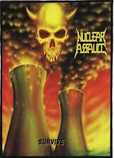 NUCLEAR ASSAULT BACKPATCH / SPEED-THRASH-BLACK-DEATH METAL