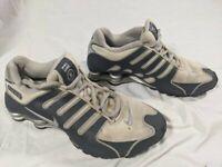 Nike Womens Shox NZ NS - 580574 100 - Sport Grey / Navy Blue - Size: 7.5 Running