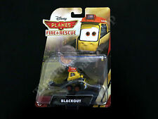 Disney Planes Fire & Rescue Blackout Mattel Die-cast, Smokejumpers Saw