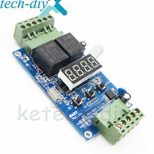 12v Dual Programmable Relay Control Cycle Delay Timer Timing Switch Module L2kd