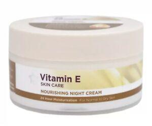 NEW Superdrug Vitamin E Nourishing Night Cream Face Skin Care 100ml Cruelty Free