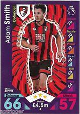 2016 / 2017 EPL Match Attax Base Card (4) Adam SMITH AFC Bournemouth
