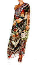 Silk Long Dresses for Women with Crystals