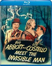 Abbott and Costello Meet the Invisible Man [New Blu-ray]