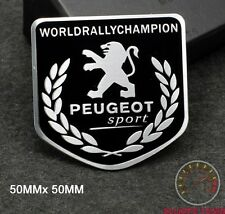 PEUGEOT SPORT BADGE EMBLEM - 208 5BLK 107 206 207 GTI WRC TURBO 205 306 307 CC
