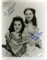 ANN RUTHERFORD EVELYN KEYES JSA Autograph 8x10 GWTW Photo Hand Signed