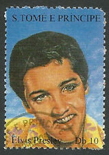 St. Thomas & Prince Islands Scott# 1166a, Elvis Presley, Used, 1994