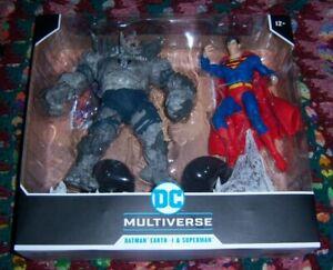 McFarlane Toys DC Multiverse Batman The Devastator Vs. Superman In Hand