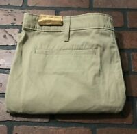 Magellan Outdoors Khaki Flat Front Chino Pants Men's Size 36 x 30