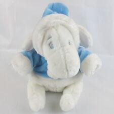 Disney Store Exclusive Winnie The Pooh White Eeyore Blue Hoodie Plush