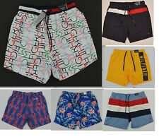 Tommy Hilfiger Traveler Swim Beach Bathing Suit Trunks Shorts Mesh Lined