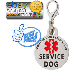 Double Sided Service Dog Small Breed Federal Protection Tag Vest/Collar/Harness