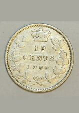 1900 Canada 10 Cents Coin