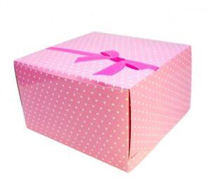 10 x Tortenbox Shantys - 25 x 25 x 15 cm (Tortenkarton)