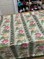 """Vintage ? Waverly / Schumacher Fabric Kings Road 54"""" Wide 26 Yards Long"""