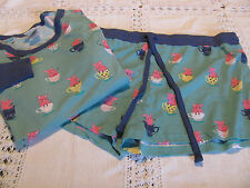 NITE NITE MUNKI MUNKI PJ Sleepwear 2 PC  NEW Pigs in a tea cup