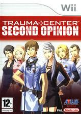 Videogame Trauma Center Second Opinion NINTENDO WII ITALIANO Nuovo SIGILLATO