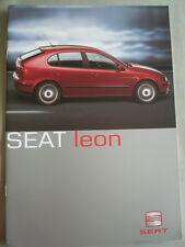 Seat Leon range brochure Apr 2000