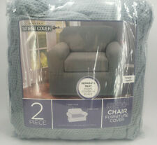 MAYTEX SMART COVER STRETCH CHAIR FURNITURE COVER 2 PIECE 32X43 INCH PIXEL