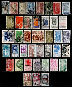 MEXICO: CLASSIC ERA - 1950'S STAMP COLLECTION AIRMAILS